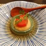 禅紫 - よもぎ豆腐