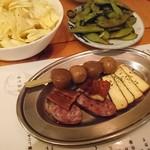 おでん&ワイン カモシヤ - 燻製のセット