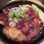 豚焼き田2DEN-due - 鉄板味噌豚テキ