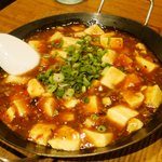10372225 - 麻婆豆腐は鉄鍋で出てきます