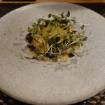 103722131 - 甘鯛とフキノトウと白いんげん豆
