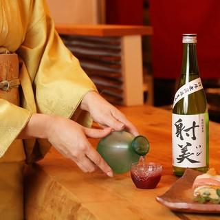 日本酒、ワインをお料理に合わせて