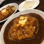 洋食屋 岩月 - あさりピカタ×2 麺1.5倍