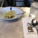 インデアンカレー - テーブルセット