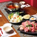 中華料理 賛否両論 - 料理写真:選べて楽しめる創作しゃぶしゃぶ