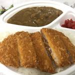 岡山市サウスヴィレッジ - 料理写真:カツカレー500円