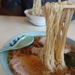 大塚支店 - 麺が細いです、素麺みたい。