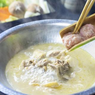 鳥元の水炊き鍋〈特別飼育伊達鷄使用〉