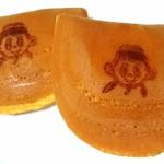 御菓子司 吉乃屋 - まなりくんどら焼きの焼印