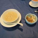 103735716 - スープ & 香の物