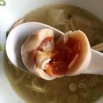 らーめん 三福 - 煮卵
