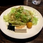 マンジャーレ - セットのサラダ