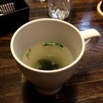 マンジャーレ - セットのスープ