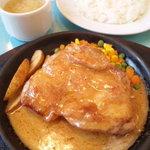 レストランこはく - 料理写真:チキンガーリックソテー
