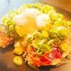 お好み焼き バリエー - 料理写真:名物焼き(海鮮半熟ねぎ卵+サンバル)