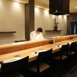 鮨 水魚 - カウンター