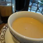 元町珈琲 - 朝のカフェオレ