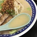 くろいわラーメン - 豚骨と鶏ガラの優しくまろやかなスープ(日本橋三越「鹿児島展」)