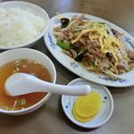 栄楽中華店 - 料理写真: