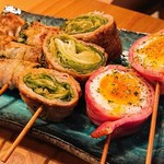 ハライッパイ - ネギ(200円)、レタス(290円)、半熟卵(200円)
