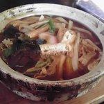 めん房 - 料理写真:牡蠣味噌煮込みうどん