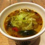 10375994 - 8種の野菜と鶏肉のスープ