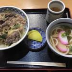 大森屋 - 料理写真:肉丼・ミニうどん セット