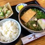 一楽そば処 - 料理写真:そば定食