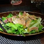 赤羽HAZE - ベーコンのスモークサラダ