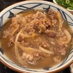 丸亀製麺 - 肉うどん並590円