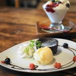 CAFEオヤジ - フォンダンショコラ
