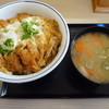 かつや - 料理写真:かつ丼(竹)とん汁