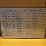 Shinshin - メニュー2
