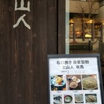 Sobadosanjin - 店構え