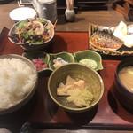 駿河屋賀兵衛 - 塩辛&焼魚定食