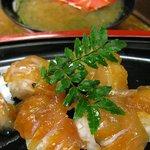 かあちゃん - べっこう寿司、握り6貫で1050円