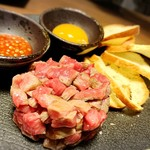 BATON - 牛肉タルタル