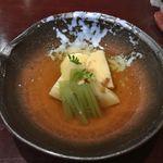 橙や - 筍と蕗の土佐煮