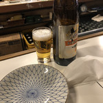 角屋 - 瓶ビール600円税込