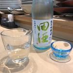 三代目 まる天 - ドリンク写真:田酒 純米吟醸 生