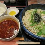 讃岐麺屋 あうん - 料理写真:麻婆つけ麺+ご飯