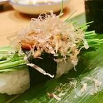 梅丘寿司の美登利 - ▲芽ネギ@50