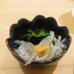 築地寿司清 - おとおし