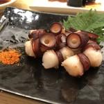 築地寿司清 - タコの焼き物