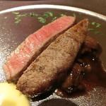 103776330 - 国産A5和牛フィレ肉とバラ肉のアンサンブル