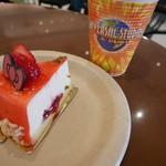 103777374 - ハローキティのストロベリーレアチーズケーキ