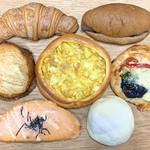 サンクルー - 料理写真:今回買ったパン