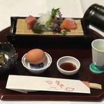 草津温泉 望雲 - 食前酒が甘くてうま〜