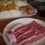 奥山 山の家 - 奥山 山の家 ラム肉