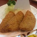 まる福 - ハムカツ¥450